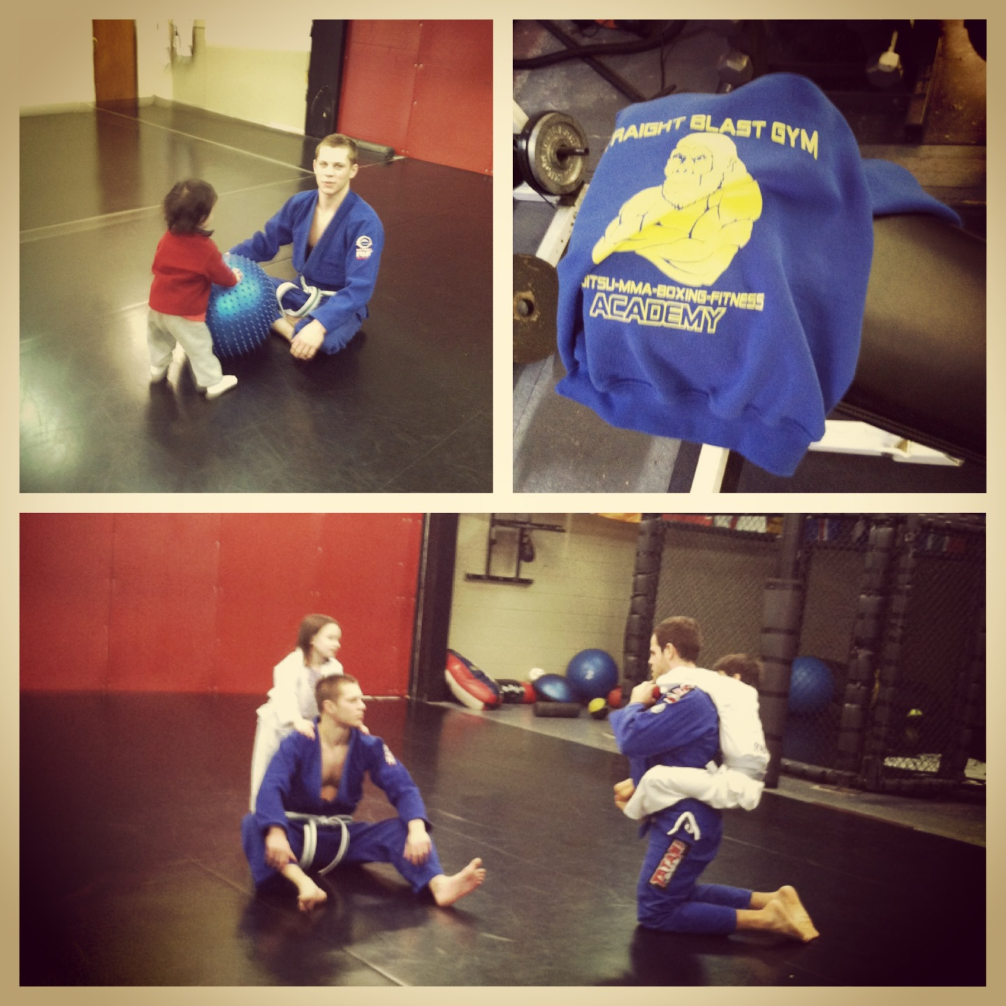 Last kids martial arts class of 2012 at SBGi Portland, OR